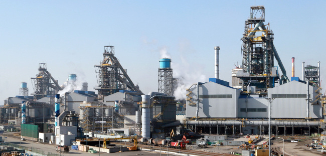 Hyundai Steel's plant facilities in Dangjin, South Chungcheong Province (Hyundai Steel)