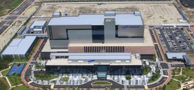 Samsung BioLogics' new manufacturing complex in Songdo, Incheon. (Samsung BioLogics)