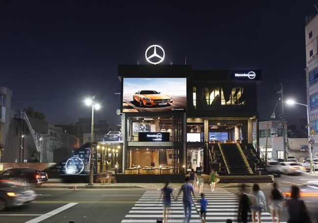 mercedes me busan reaches out to busan s young drivers. Black Bedroom Furniture Sets. Home Design Ideas