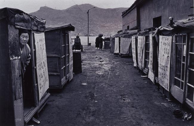 """Document - Under the Youngdo Bridge in Busan 1971"" by Joo Myung-duck (MMCA)"