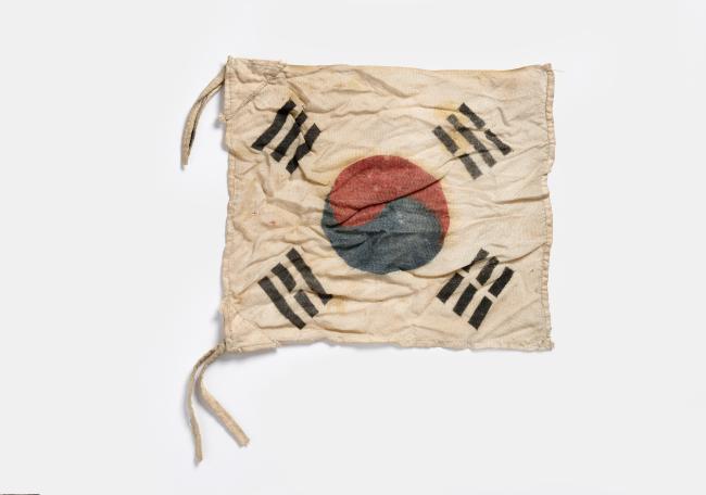 Taegukgi (The National Museum of Korean Contemporary History)