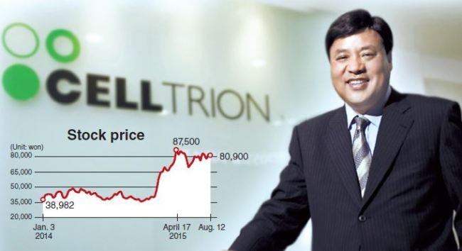 Celltrion chairman and CEO Seo Jung-jin (Celltrion)