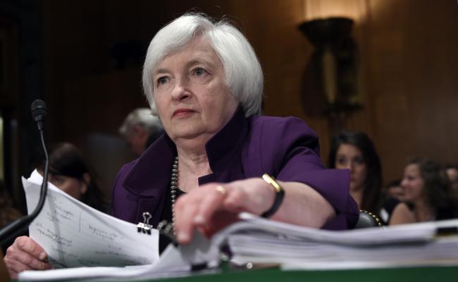 U.S. Federal Reserve chair Janet Yellen (AP)