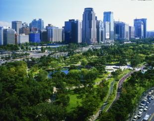 Yeouido Park in Seoul, an urban forest in Korea (KFS)