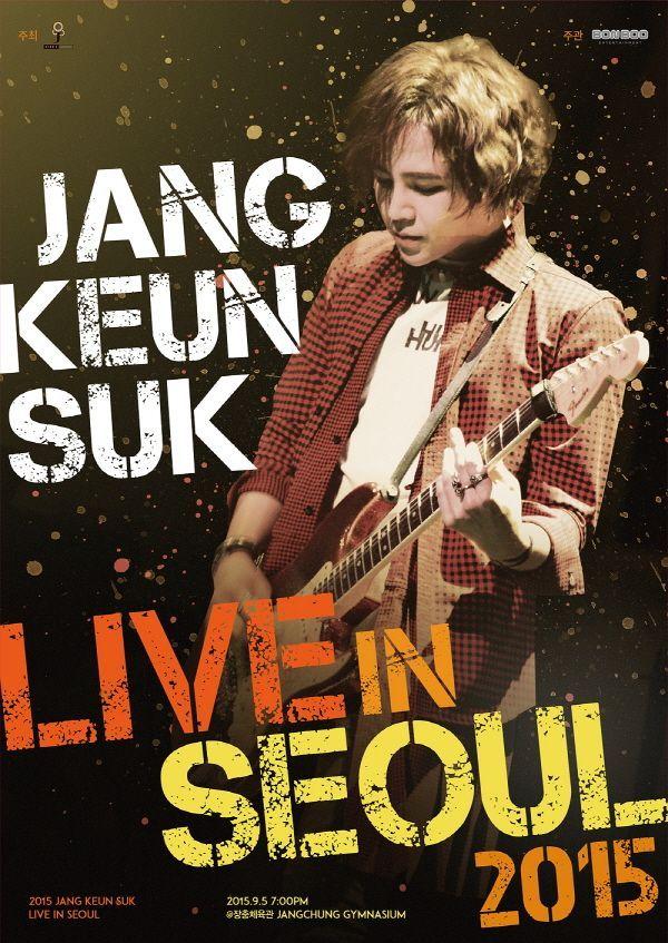 Concert poster of Jang Keun-suk (Tree J Company)