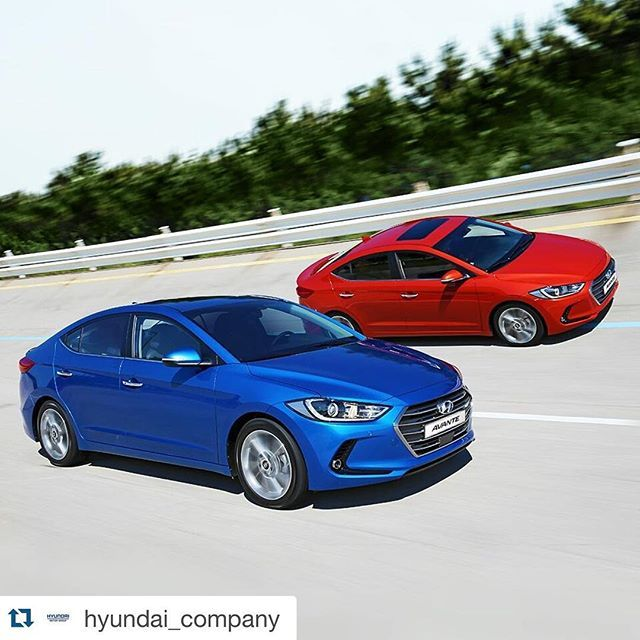 The all-new Avante, which debuted in September. Hyundai Motor