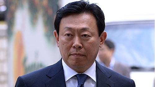Lotte chairman Shin Dong-bin