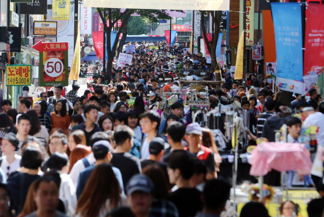 South Korea belongs to the most corrupt 20 percent of the 30 advanced countries, with a poverty rate of 14.6 percent. (Yonhap)