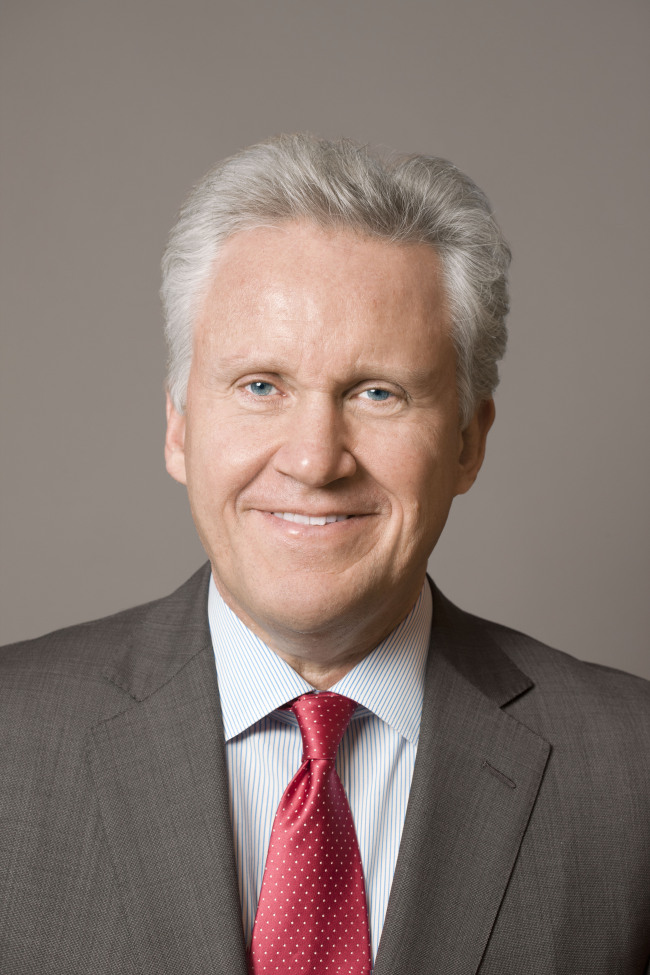 Jeff Immelt, chairman and CEO of General Electric. GE