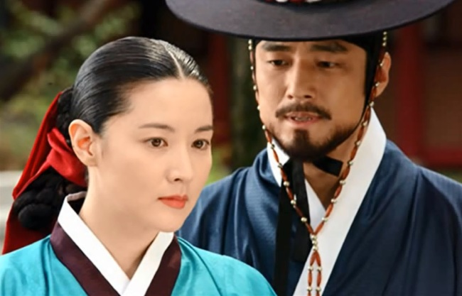 """Scene from 2003's hit MBC TV drama """"Jewel in the Palace"""" (MBC)"""