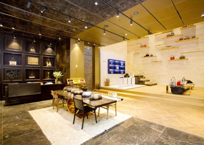 The lobby of 0914's flagship store (0914)