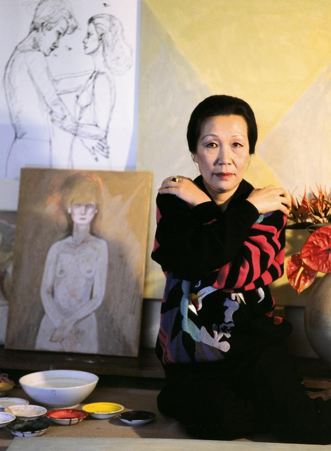 Artist Chun Kyung-ja (Yonhap)