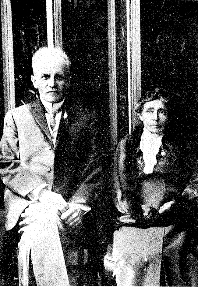 Horace G. Underwood with his wife
