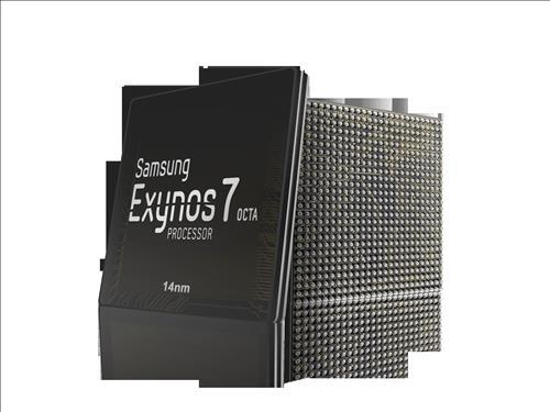 Samsung Electronics' Exynos 7 Octa featured in the Galaxy S6. (Yonhap)