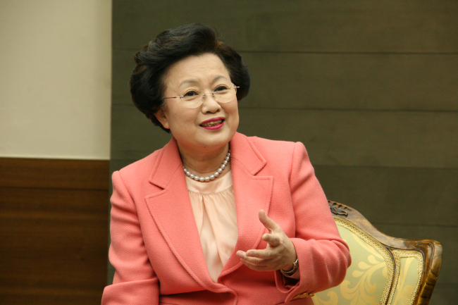 Lee Bae-yong, president of the Academy of Korean Studies (Academy of Korean Studies)