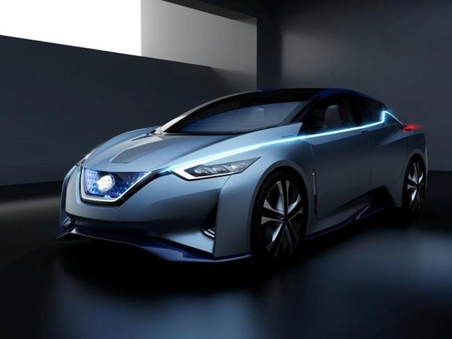 Nissan's autonomous driving with electric IDS concept