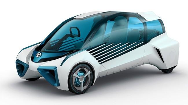 Toyota's FCV Plus concept