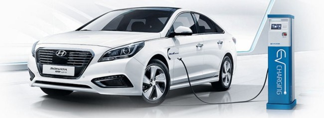 The Sonata PHEV (Hyundai Motor)