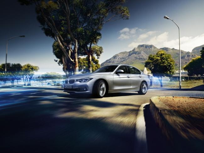 The BMW 330e (BMW)