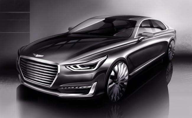 Artist`s rendering image of the Genesis EQ900