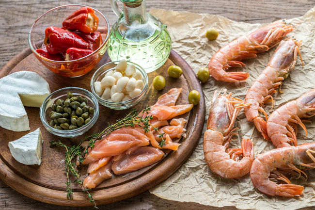 A higher adherence to the Mediterranean diet is associated with a reduction in risk for condition, experts say. (123RF)
