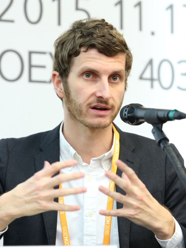 Antoine Nazaret, head of content Asia at Dailymotion (KOCCA)