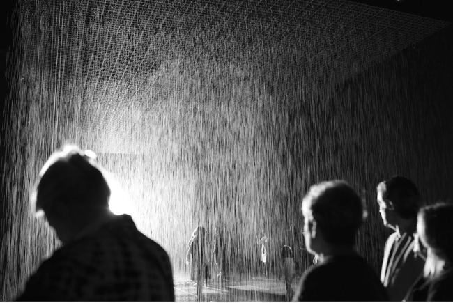 Rain Room / Source: Random International