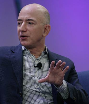 Jeff Bezos. Bloomberg