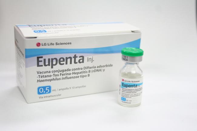 LG Life Sciences' 5-in-1 vaccine Eupenta (LG Life Sciences)