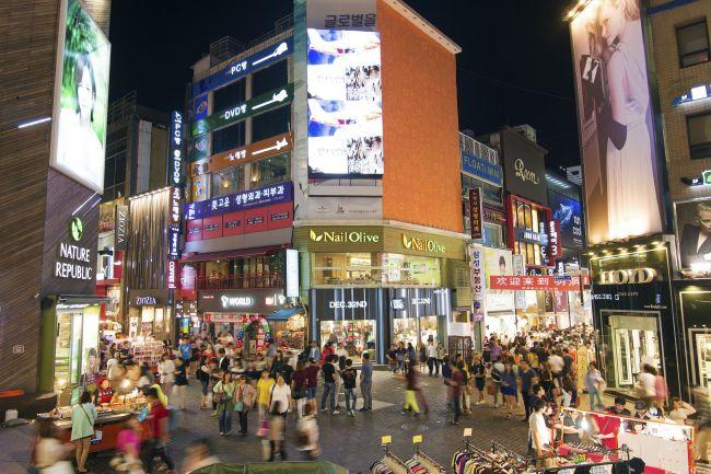 Myeongdong, Seoul. (123rf.com)