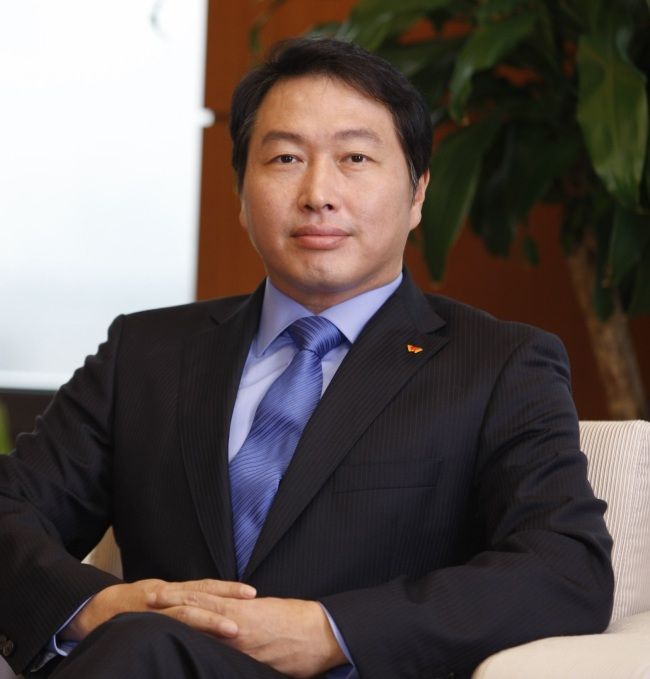 SK chairman Chey Tae-won (SK)