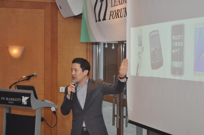 Mickey Kim, head of Asia-Pacific for Google's Chromecast & TV (Media & Future Institute)