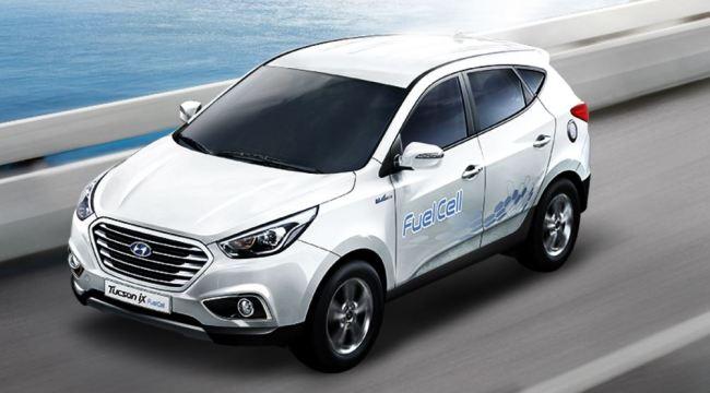 Hyundai Motor's Tucson ix fuel-cell electric vehicle (Hyundai Motor)