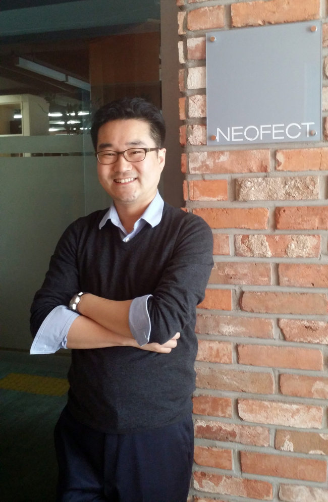 Neofect cofounder and CEO Ban Ho-young. (Neofect)