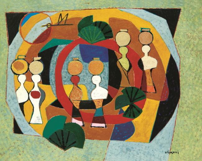 """Island Sketches"" by Kim Whanki (K Auction)"