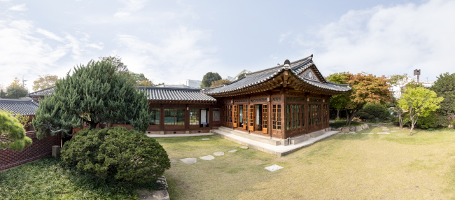 A view of Baek In-je House (Seoul Museum of History)