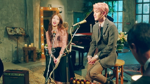 Baekhyun and Suzy (JYP Entertainment)