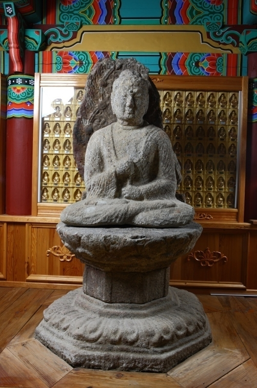 Silla-period Buddhist sculpture made in 766 A.D. (Cultural Heritage Administration)