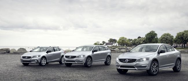 The product lineup of Volvo Cross Country. Volvo Car Korea