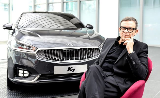 Peter Schreyer, president and chief design officer at Hyundai Motor Group. Hyundai Motor