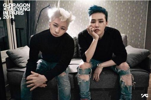 Taeyang (left) and G-Dragon of Big Bang (YG Entertainment)