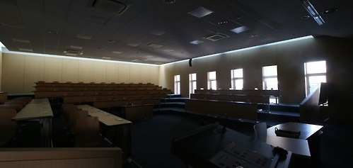 Seoul National University's lecture room (Yonhap)