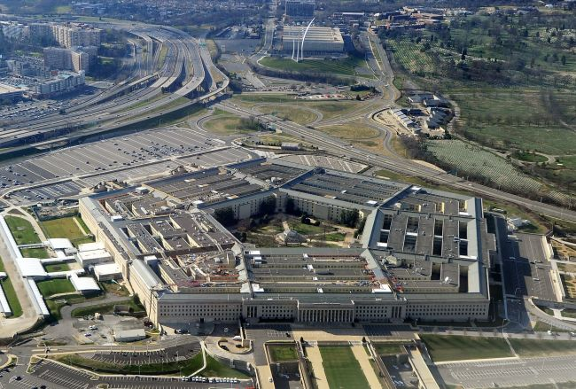 This file photo taken on December 26, 2011 shows the Pentagon building in Washington, DC. The United States military hopes to send a sophisticated missile defense system to South Korea