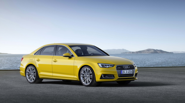 The all-new A4, fitted with Ventus S1 evo2 premium tires (Hankook Tire)
