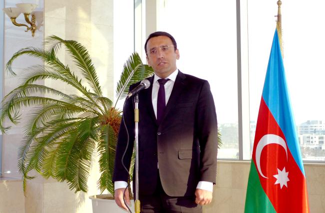 Azeri Ambassador Ramzi Teymurov (Joel Lee / The Korea Herald)