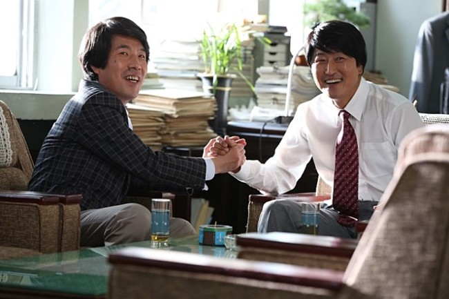 """A scene from """"The Attorney"""" produced by NEW, whose investors include Huace Media Investment. (NEW)"""