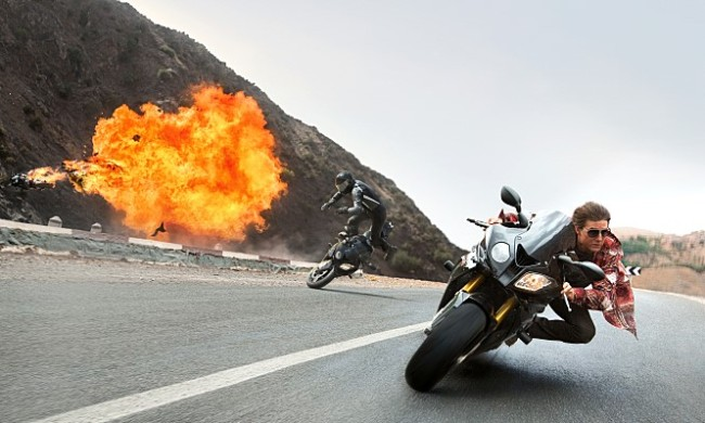 """Alibaba Pictures, a movie unit of China's e-commerce giant Alibaba, invested in Tom Cruise's """"Mission: Impossible --Rogue Nation."""" (Paramount Pictures)"""