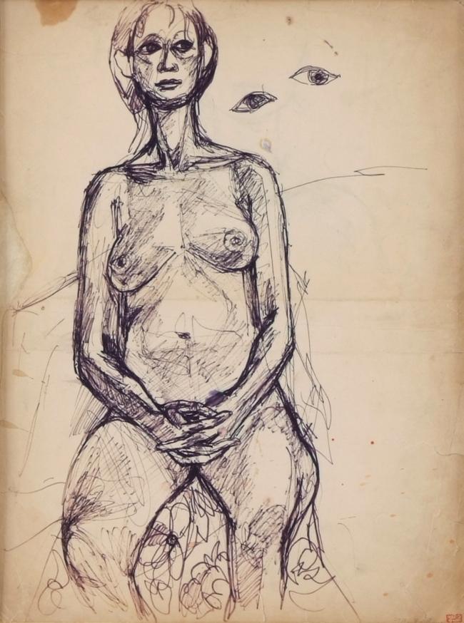 """Woman"" by Chun Kyung-ja (starting at 15 million won) (Artday)"