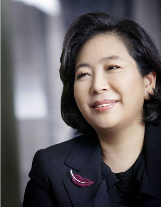 Hyundai Group Chairwoman Hyun Jeong-eunYonhap