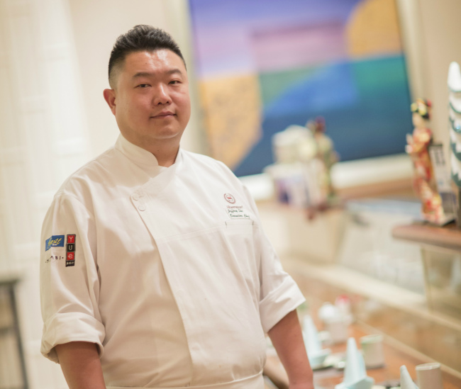 Jeffrey She, executive chef of Sheraton Jinan Hotel (Sheraton Seoul D Cube City Hotel)